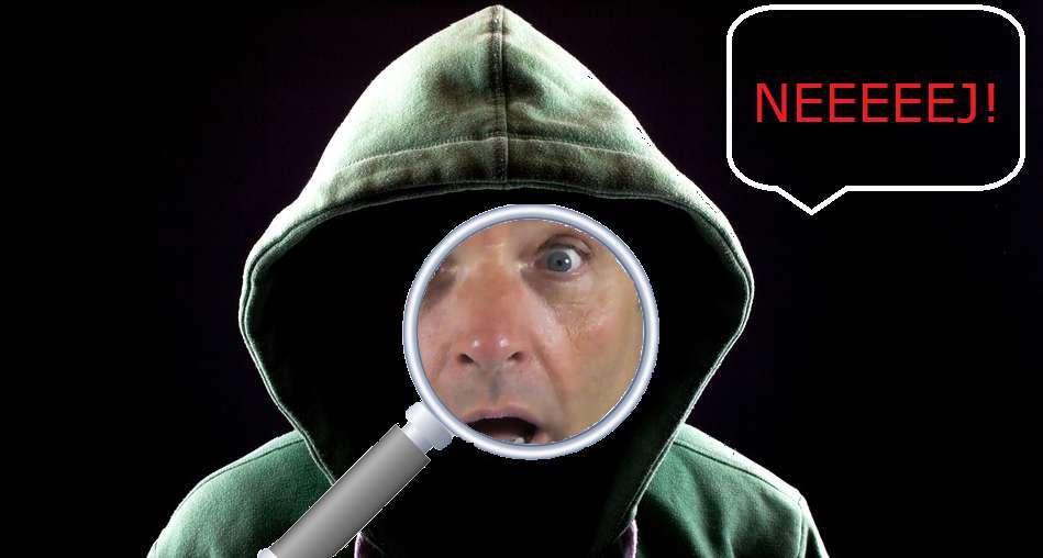 Anonyma kan hittas